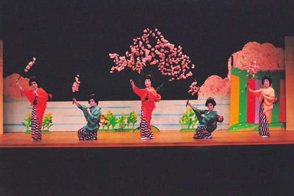 元禄花見踊