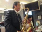 飯塚雅幸&小西光雄が 、秋田市レストラン「げん氣・深緑コンサート」に出演しました。