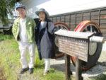 藤間知枝「第八回・藤友会」の準備で元歌舞伎座絵師、鈴木敬三ご夫妻に滞在頂いています。