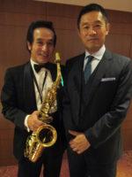 飯塚雅幸が16年ぶりに、俳優「内藤剛志」氏と秋田キャッスルホテルで再会しました。