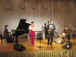 飯塚雅幸が「JAZZ&ボージョレヌーボーの夕べ」に早川泰子トリオ+2で出演しました。