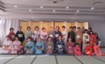 藤間知枝主宰、平成28年「藤友会・おどり初め」を大仙市「中里温泉」で開催しました。