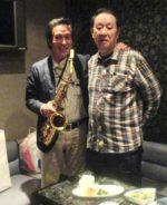 飯塚雅幸・藤間知枝の同級生・福岡から「戸板孝康を迎えての会」で旧交を温めました。