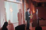 飯塚雅幸(サックス)が某秋田県議会議員の新年会にお招き頂き、祝奏致しました。