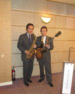 飯塚雅幸が 「能代山本地区某協会総会」様にお招き頂きプラザ都で祝奏しました。