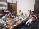 飯塚雅幸&藤間知枝が上京、前日宇都宮の兄の自宅でお世話になりました。