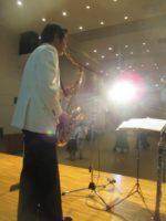 飯塚雅幸(サックス)が「トパーズ・ダンスパーティ」にお招き頂き演奏しました。