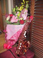飯塚雅幸が15周年「画廊ブランカLIVE・ばんげパーティ」に出演しました。