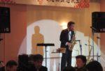 飯塚雅幸が某秋田県議会議員の「新春懇話会」にお招き頂き祝奏しました。