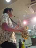 飯塚雅幸が佐々木勝巳主催「CBSダンスサークル」にお招き頂き演奏しました。