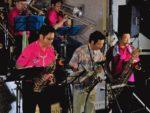 飯塚雅幸が「一丈木夏祭り」で「美郷JAZZオーケストラ」と共演しました。