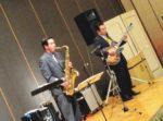 飯塚雅幸が某・業界最大手の会社慰労会にお招き頂きお祝いの演奏をしました。