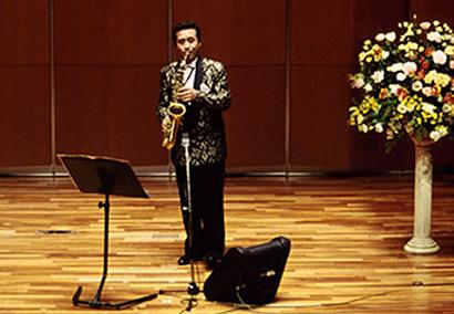 東京銀座ヤマハホールでクラシックを演奏