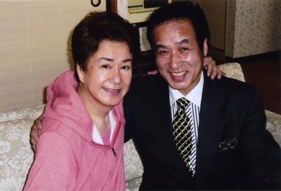 歌手・三田明さんと飯塚雅幸