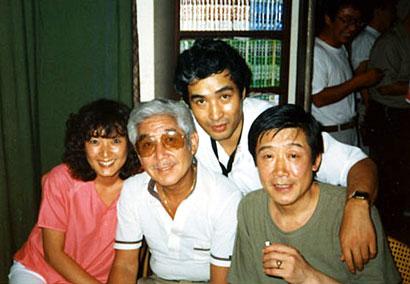 土田真弘さんと世良譲さん、小林旭の相手役だった戸部夕子さんと