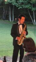 飯塚雅幸が「大曲中央ロータリークラブ新旧役員交代家族会」にお招き頂き祝奏しました。