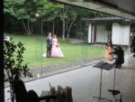 飯塚雅幸がジューンブライド6/30「阿部家・斉藤家」結婚披露宴にお招き頂きお祝いの演奏をしました。