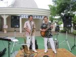 飯塚雅幸が「ほくと西栄会」納涼パーティにお招き頂き演奏しました。