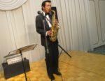 飯塚雅幸が9/7(土)「金沢中学校第九期卒業・傘寿を祝う会」にお招き頂き、お祝いの演奏をしました。