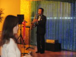 飯塚雅幸が9/26(木)が「川原敏氏大仙市技能功労賞者表彰受賞記念祝賀会」にお招き頂き祝奏しました。