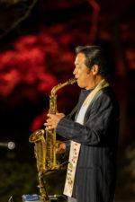 飯塚雅幸が11/3(日・祝)東北3大地主庭園「晩秋のファンタジーナイト」に出演しました。