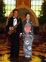 飯塚雅幸&藤間知枝が皆様へ「メリークリスマス」おめでとうございます。