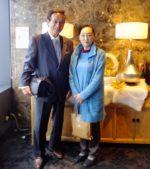飯塚雅幸&藤間知枝が秋田ビューホテル12階「スカイグリルブッフェレストラン空桜(SORA)」に行きました。