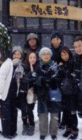 飯塚雅幸&藤間知枝が1/2(木)女優で劇団「文化座」座長・佐々木愛さんご家族とお会いしました。