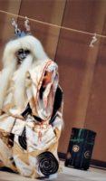 飯塚雅幸&藤間知枝の娘「藤間綾那」が踊った「小鍛治」の狐、そしてその「隈取り」です。