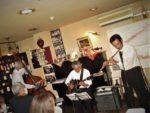 飯塚雅幸が8/22(土)秋田市山王ワインガーデン・リシュブール「ワイン&JAZZの夕べ」に出演しました。