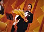 飯塚雅幸が以前4年連続「あきぎん吹奏楽団・音楽フェスティバル」にゲスト出演させて頂いたシーンです。