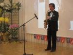 飯塚雅幸が某銀行「信栄会」様にお招き頂き、演奏させて頂きました。