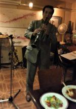 飯塚雅幸が「獨協大学OB会・秋田県支部総会」でトリオで演奏しました。
