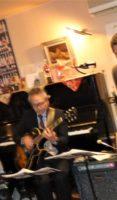 飯塚雅幸が今年最後の吹納め「リシュブール・ワイン&JAZZの夕べ」で演奏しました。