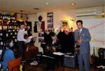 飯塚雅幸が毎月恒例5/22(土)「リッシュブールワインガーデン・ワイン&JAZZの夕べ」に出演します。
