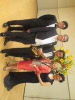 飯塚雅幸・藤間知枝の同期生、世界のバリトン歌手「小松英典リサイタル」です。