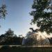 飯塚雅幸が7月出演させて頂く「あきたグリーンサムの杜」のステキな野外ステージが完成!!むつみ造園土木(株)様のHP写真からです。